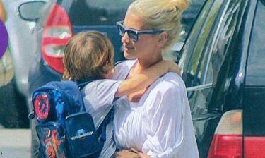 Νίκη Κάρτσωνα: Με τον μικρό Φίλιππο στον παιδικό σταθμό