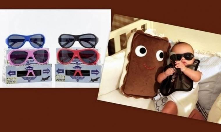 Μοδάτα γυαλιά που προτιμούν για τα παιδιά τους διάσημες μαμάδες!