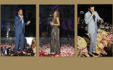 Πάνος Καλίδης-Χρήστος Μενιδιάτης-Στέλλα Καλλή: Λαμπερή πρεμιέρα στο VOX