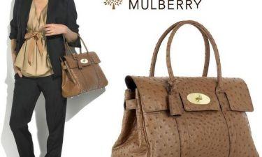 Η Mulberry δεν επιδιορθώνει τσάντες από την Ελλάδα