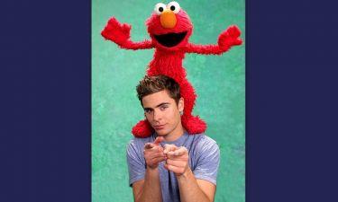 Ο Zac Efron στο Sesame Street