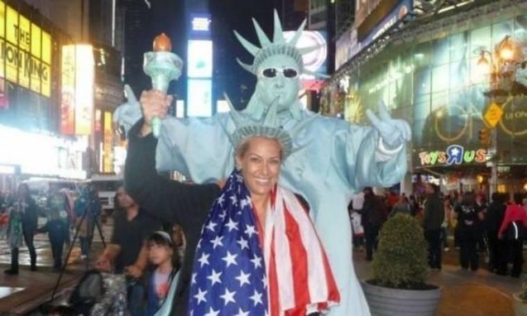 Ορθούλα Παπαδάκου: Φωτογραφίες από το ταξίδι της στη Νέα Υόρκη!