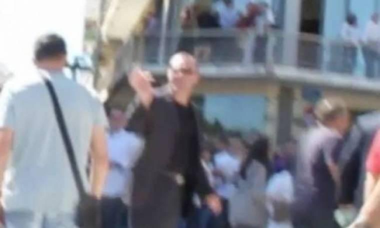 Βίντεο: Επεισόδιο με βουλευτή της Χρυσής Αυγής στην Τρίπολη