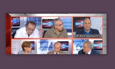 Δημήτρης Καμπουράκης: Έφυγε στα μισά της εκπομπής!