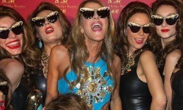 Η Anna Dello Russo και οι κλώνοι της στο πάρτι για τη νέα H&M συλλογή