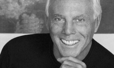 Τζόρτζιο Αρμάνι: Η ομορφιά του τον βοήθησε σημαντικά στη δουλειά του