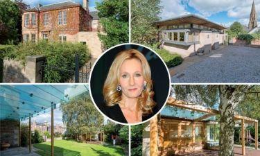 JK Rowling: Πουλάει το σπίτι όπου έγραψε το Harry Potter