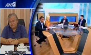 Γιώργος Παπαδάκης: Ο παρουσιαστής, οι τοκογλύφοι και τα σώβρακα!