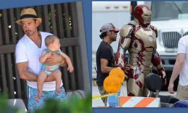Robert Downey Jr: Από την πισίνα στη στολή του Iron Man