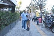 Γιώργος Δασκουλίδης: Με την σύντροφό του βόλτα στη Γλυφάδα
