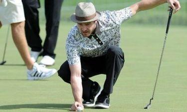 Justin Timberlake: Αγώνας γκολφ για φιλανθρωπικούς σκοπούς