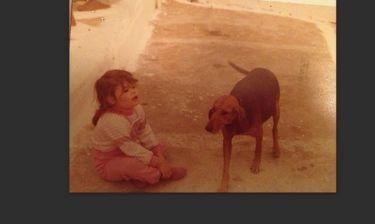 Ποια γνωστή ηθοποιός είναι το κοριτσάκι της φωτογραφίας;