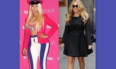 American Idol: Η Mariah Carey φοβάται για τη ζωή της μετά τον καβγά με τη Nicki Minaj