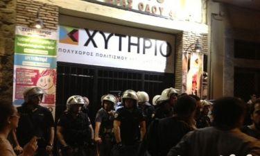 Απείλησαν να κάψουν το θέατρο «Χυτήριο» της Βάσιας Παναγοπούλου! (Φωτό)