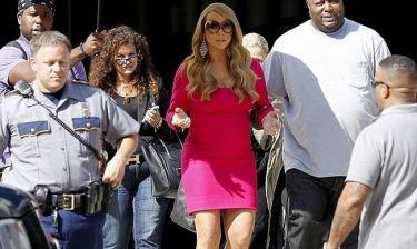 Mariah Carey: Με σωματοφύλακες και αστυνομία στα πλατό του American Idol