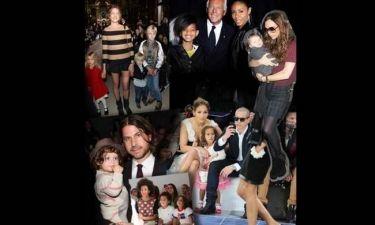 Paris Fashion Week: δείτε τους celebrity που κουβαλάνε στα show όλη τους την οικογένεια