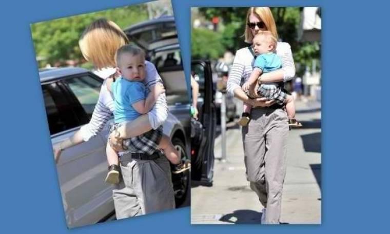 January Jones: Διασκεδαστικές στιγμές με το γιο της!