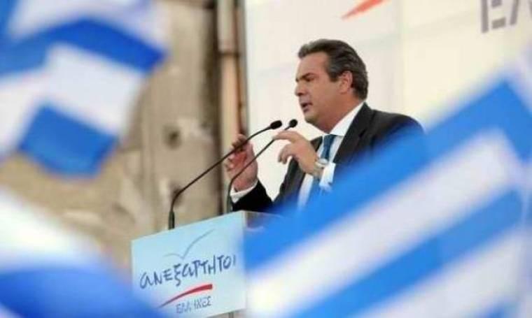 Π. Καμμένος: Υποδεχόμαστε τη Μέρκελ με ελληνικές σημαίες στα μπαλκόνια
