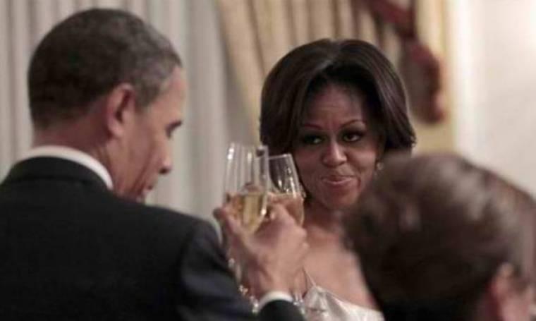 Ρομαντικό δείπνο για τη Μισέλ και τον Μπαράκ Ομπάμα
