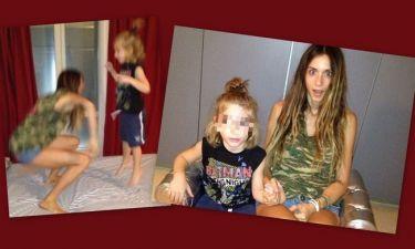 Η Σοφία Καρβέλα παίζει με τον ετεροθαλή αδερφό της, Αντρέα! (φωτό)