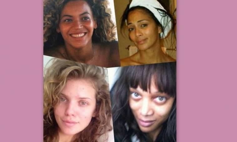 Δεν είμαστε τέλειες: Ποιες διάσημες το δήλωσαν και φωτογραφήθηκαν χωρίς μακιγιάζ;