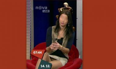 Ποια παρουσιάστρια της Nova εμφανίστηκε χωρίς εσώρουχο; Δείτε το!!!!(1) (Nassos blog)