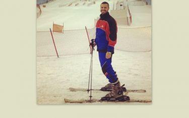 Χρήστος Βασιλόπουλος: Έφυγε από την Αμερική και πήγε για σκι στο Ντουμπάι