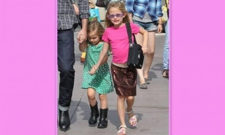 Οι κόρες του Ben Affleck αγαπούν τη μόδα
