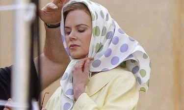 Οι πρώτες φωτογραφίες της Nicole Kidman από τα πλατό του Grace Of Monaco