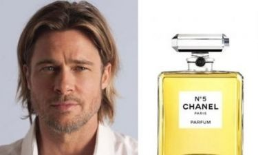 Aυτά είναι τα νέα διαφημιστικά spot τoυ Chanel No5, με πρωταγωνιστή τον hot Brad Pitt