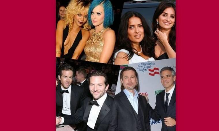 Stars και φιλία: Οι διασημότερες φιλίες της διεθνούς showbiz