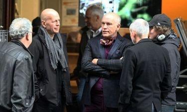 Bruce Willis – John Malkovich στα πλατό του Red 2