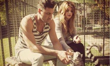 Kirstie Alley: Με τον Maksim και τους λεμούριους!