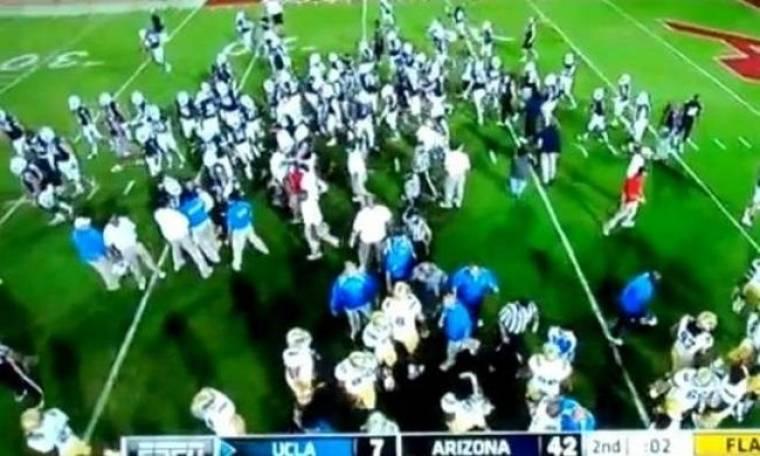 Μεταμφιεσμένος διαιτητής προκάλεσε χαμό! (video)