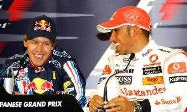 Formula 1: Ταχύτεροι οι Χάμιλτον και Φέτελ