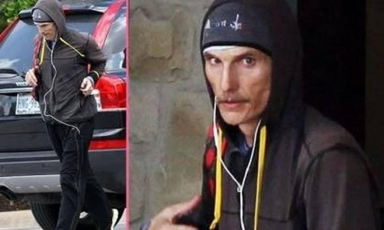 Matthew McConaughey: Συνεχίζει ακάθεκτος να χάνει βάρος και να σοκάρει!