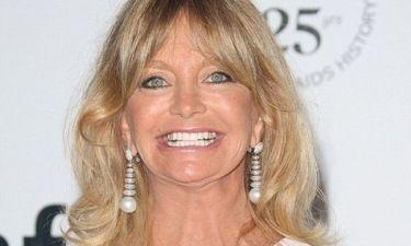 Η Goldie Hawn χωρίς ίχνος μακιγιάζ!
