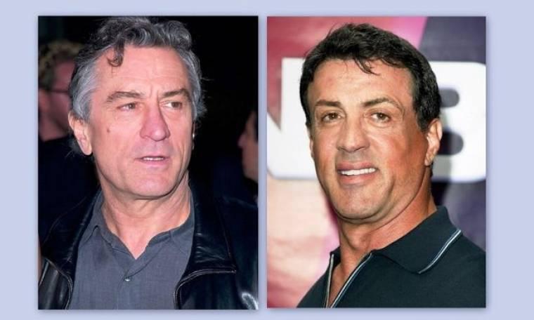Robert De Niro-Sylvester Stallone: Ανεβαίνουν στο ρινγκ!