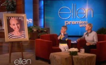 13χρονη που πάσχει από καρκίνο πραγματοποίησε το όνειρό της, χάρη στην Ellen DeGeneres