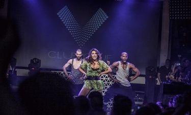 Έλενα Παπαρίζου: Το Club Tour της με τους Playmen