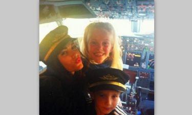 Η οικογένεια του Σνάιντερ… πιλοτάρει