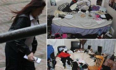 Δεν θα πιστεύετε το πως ήταν το σπίτι που ζούσε με τα παιδιά της!