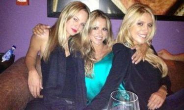Παπαβασιλείου-Περιστέρη-Πασχάλη: Πού διασκέδασαν οι τρεις κυρίες;