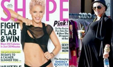 Pink: Πώς έχασε τα κιλά της εγκυμοσύνης της