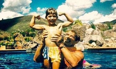 Arnold και Patrick Schwarzenegger: Κάποια... χρόνια πριν!