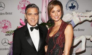 George Clooney: Σε φιλανθρωπικό δείπνο με την Stacy Keibler