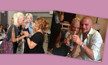 Καραγιάννη-Κωτσόπουλος: Νέες φωτογραφίες από το πάρτι για την επέτειο του γάμου τους!