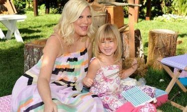 Tori Spelling: Η κόρη μου, μου έσωσε τη ζωή