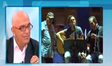 Γιάννης Ζουγανέλης: «Ο Μιχάλης Χατζηγιάννης είναι κουμπωμένος αλλά τον κούμπωσε η κοινωνία»