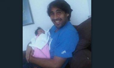 Μάρκος Παγδατής: Δείτε τον αγκαλιά με την κορούλα του
